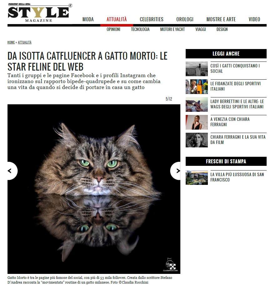 Rocchini Gatto Morto Style
